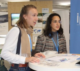 Research Postgraduates Clara Heuberger and Clea Kolster at COP23