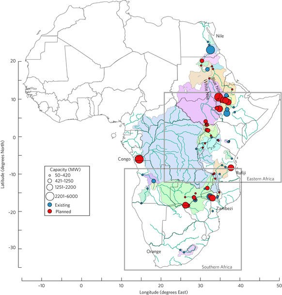 The pitfalls of hydroelectric power in drought-prone Africa ...