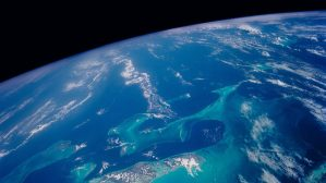 The Bahamas, photo taken from space by NASA
