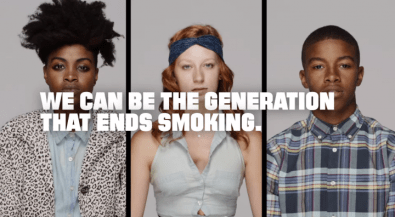 Truth Initiative. We can be the generation that ends smoking.