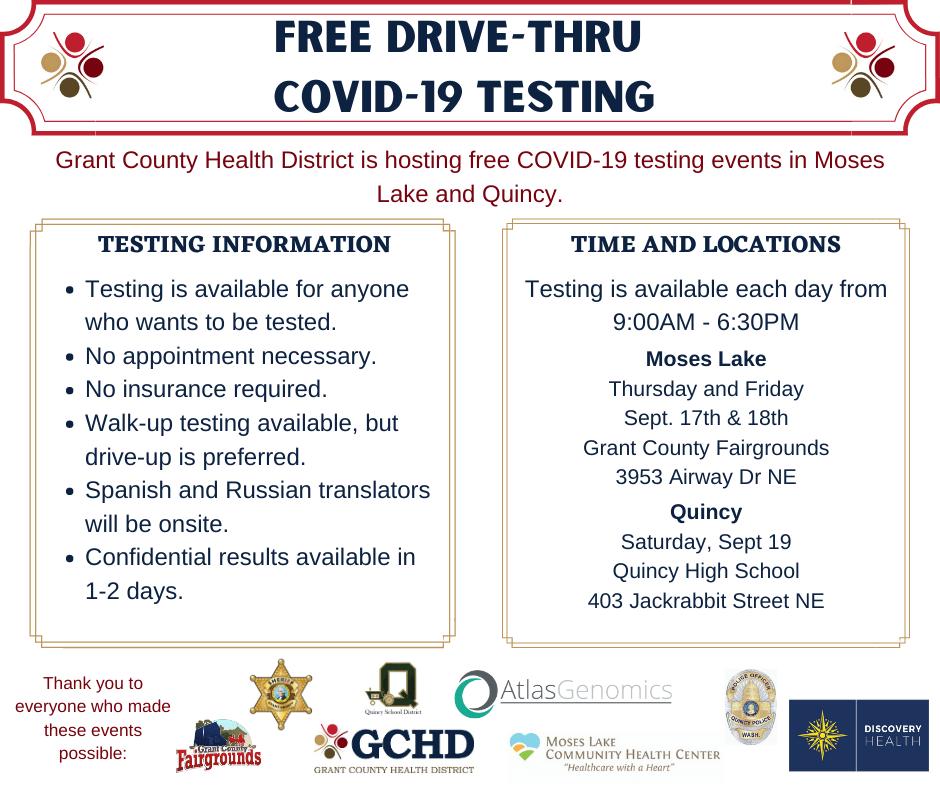 Updates for COVID-19 in Grant County, WA   Granthealth.org