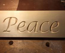 Peace Carving