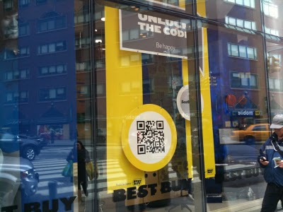 Snap a QR code from a product at Best Buy to instantly know more than the teenager trying to sell it to you