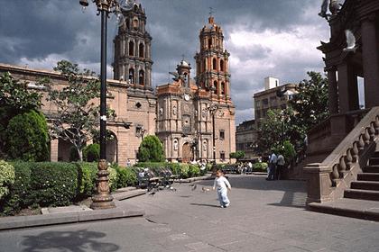 Sorpréndete con la arquitectura colonial de San Luis Potosí.