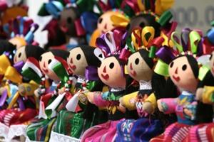 Juguetes tradicionales Mexicanos.