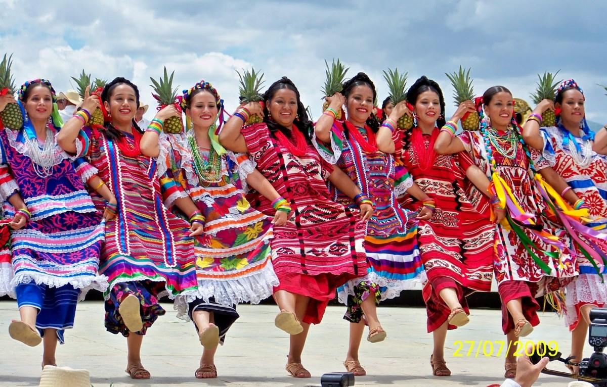 Trajes Típicos de Oaxaca México.