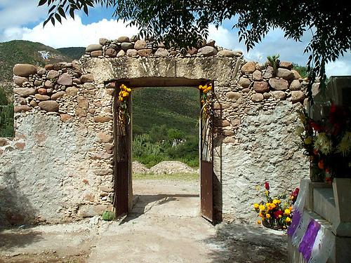 Lugares sagrados en Tolimán, Querétaro.