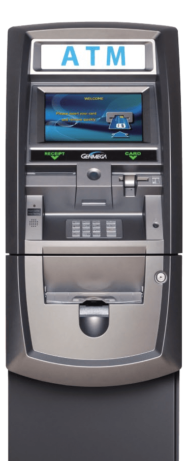 Genmega ATM placement by eGlobal ATM Services