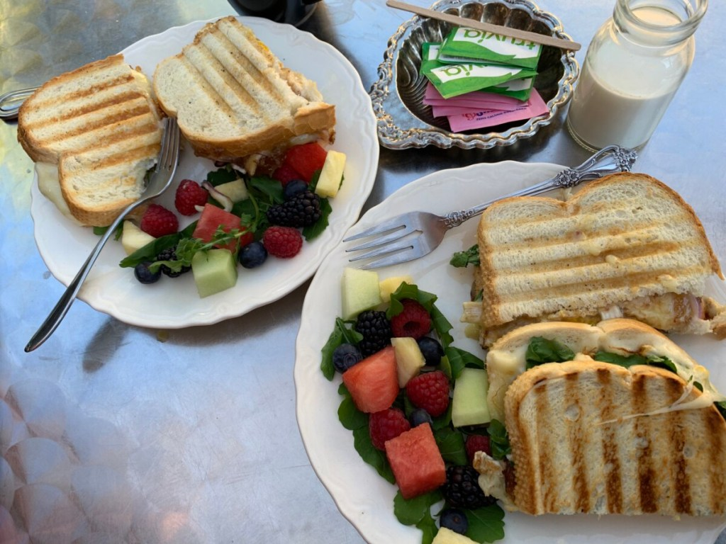 Breakfast Paninis at Andrea's On Pine