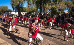 Quechua dance in San Pedro