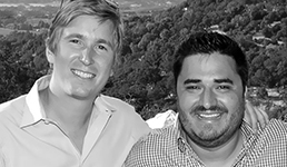 Ian Cauble and Brandon Carneiro, Founders of SommSelect
