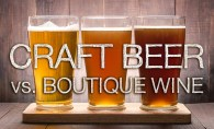 Craft Beer vs Boutique Wine