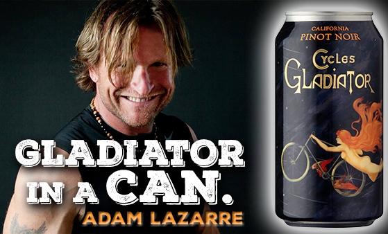 Gladiator in a Can, Adam LaZarre
