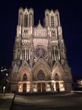 Reims Cathedrale - Justine