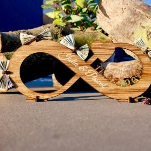 Geschenke Unendlichkeit – Geschenk zur Hochzeit aus Holz Groß