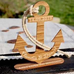 Holz Geschenke Hochzeit - Originelle, personalisierte Hochzeitsgeschenke