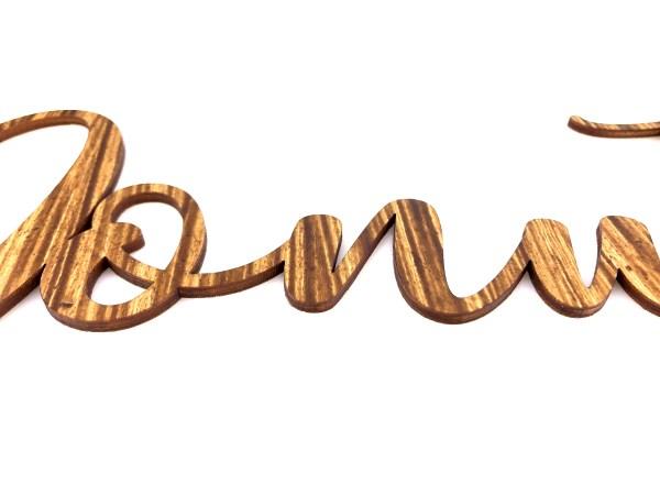 Bestseller Schriftzug Donuts 50cm aus Holz für deine Donuts Wall oder Etagere