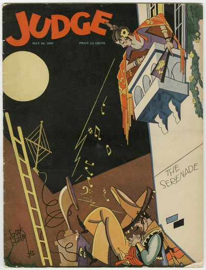Copy Of Judge Magazine with cover art