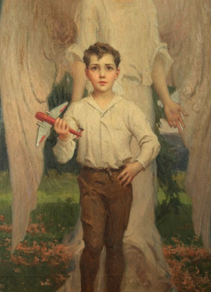 Detail of boy