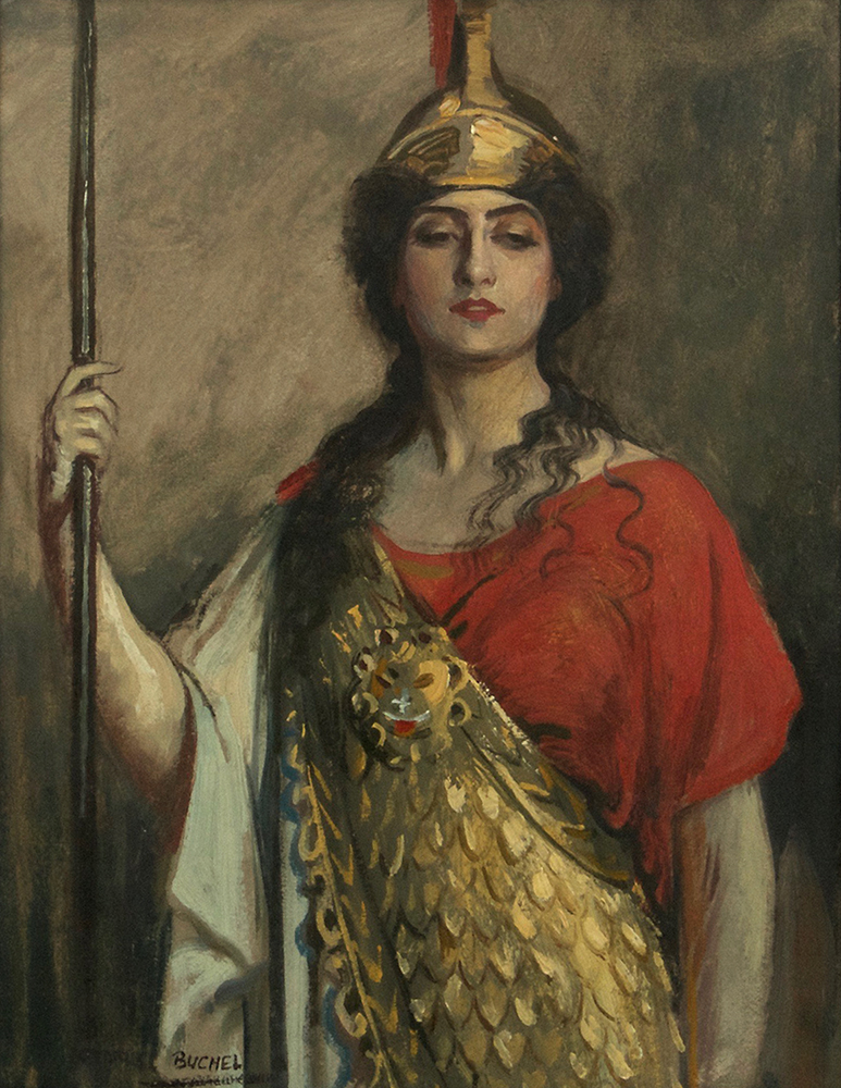 pallas athena painting - photo #3