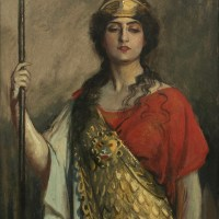 Constance Collier as Pallas Athene