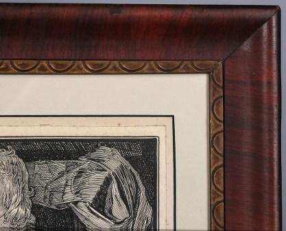 Corner frame profile