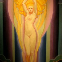 Decorative Art Deco Nude