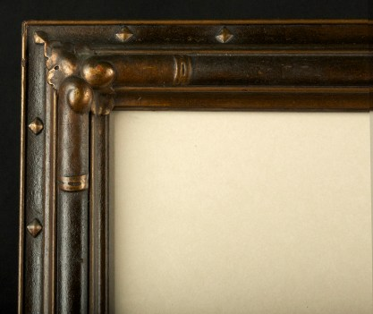 Detail of fine gesso period frame