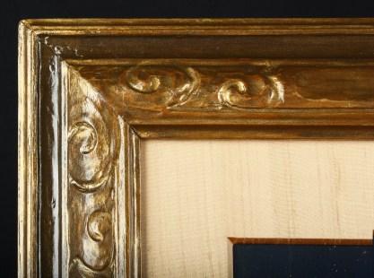 Close up detail of frame.