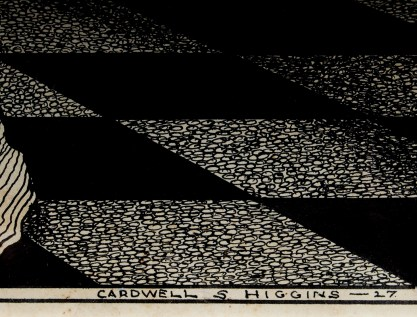 The artist's signature lower right and date of 1927