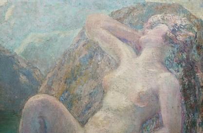 Detail of the goddess