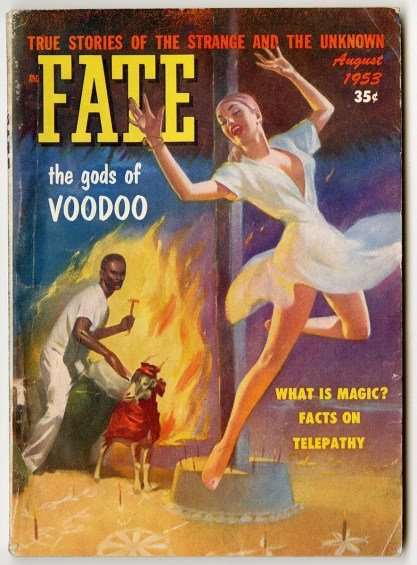 Fate True Stories of the Strange and Unknown, August 1953 (included in sale)