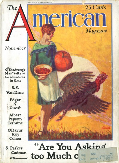 The American Magazine - November, 1928 (included in sale)