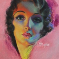 Portrait of Loretta Young