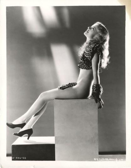 Marjorie Brandon 1934 Hips Hips Hooray