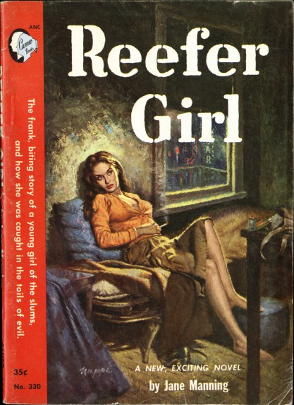 A complete First Edition of Reefer Girl by Jane Manning (included in sale)