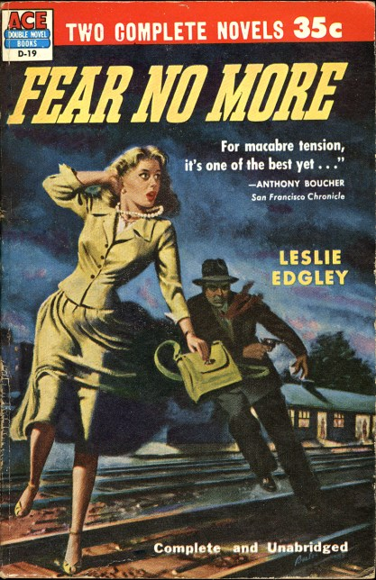 The artwork as the Cover of Fear No More published in 1946