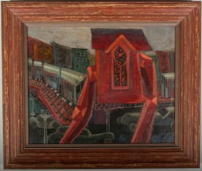 Framed view in Larson-Juhl wood gallery frame