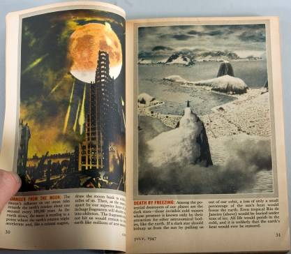The painting as it appeared in The July, 1947 issue of Coronet Magazine included in sale