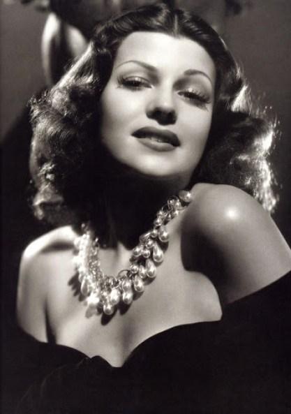 Rita Hayworth early 1940s
