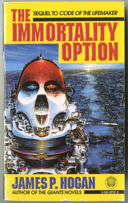 The work as it appeared on the cover of Immortality Option