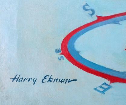 The artist's signature lower left