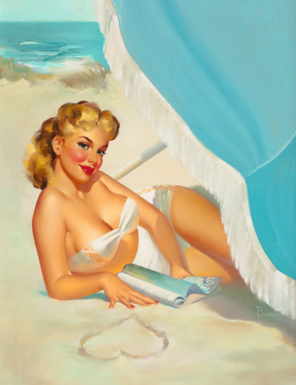 Scenic Shorelines, C. 1950 sold for $62,500.00