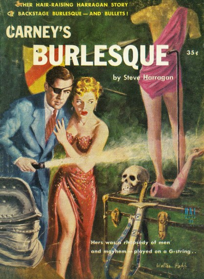 The Published Artwork - Carney's Burlesque