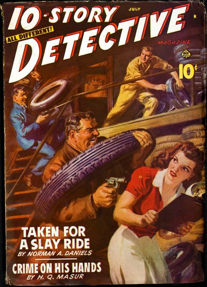 10 Story Detective - July, 1942 (included in sale)