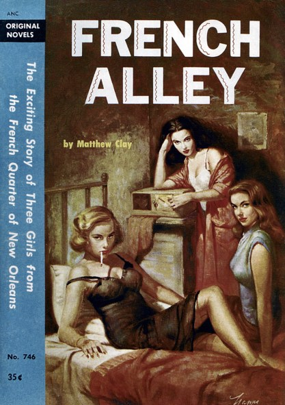 French Alley - 1956 (included in sale)