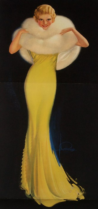 """Dazzling"" by Rolf Armstrong (1930s)"