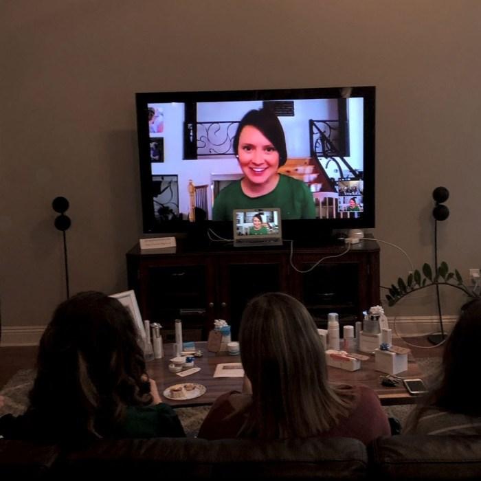 wine tasting virtual holiday prep