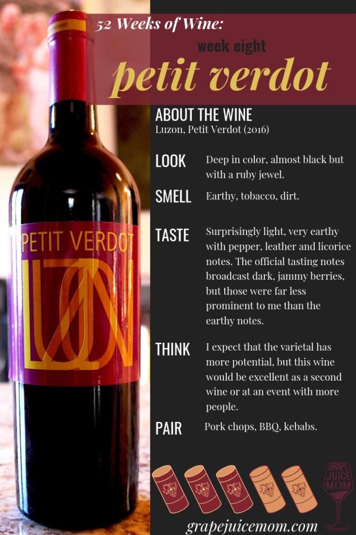 52 weeks of wine petit verdot burner wine