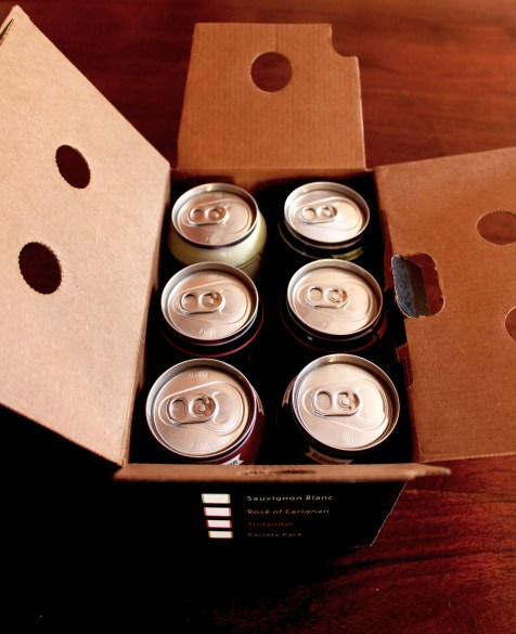 The internal packaging of the wines does not require plastic rings or excess cardboard.